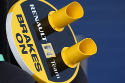 Renault F1 Team, pit lollipop