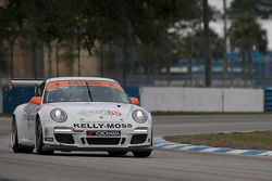 #65 Kelly Moss Racing Porsche 911 GT3 Cup: Rob Walton