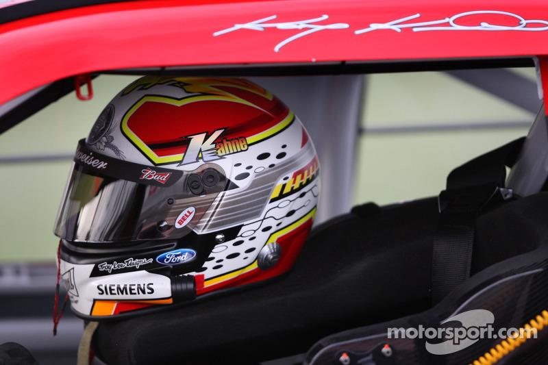 Helmet of Kasey Kahne, Richard Petty Motorsports Ford at Las Vegas