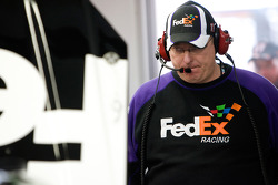 Mike Ford, crew chief for the No. 11 FedEx Toyota
