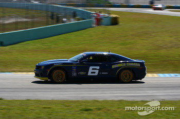 #6 Stevenson Motorsports Camaro GS.R: Matt Bell, Jeff Bucknum