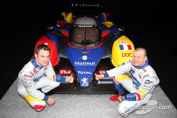Nicolas Lapierre and Olivier Panis with the ORECA-Matmut Peugeot 908 HDi FAP