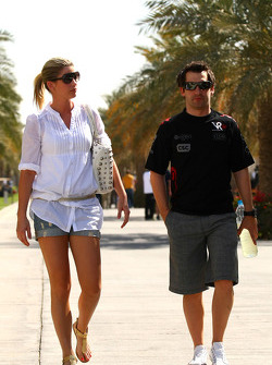 Timo Glock, Virgin Racing and his girlfriend