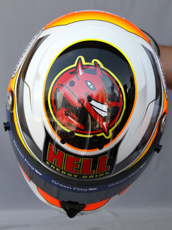 Helmet of Nico Hulkenberg, Williams F1 Team