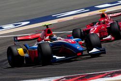 Davide Valsecchi leads Alexander Rossi