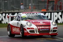 #19 Hallmarc Developments, Porsche GT3 997 Cup Car: Michael Loccisano