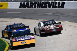 Michael McDowell, Prism Motorsports Toyota, Travis Kvapil, Front Row Motorsports with Yates Racing Ford, A.J. Allmendinger, Richard Petty Motorsports Ford