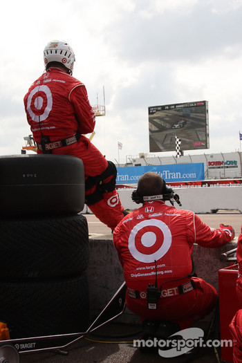 Target Chip Ganassi Racing team members