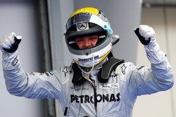 Third place Nico Rosberg, Mercedes GP