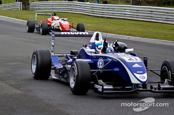 Rupert Svendsen-Cook wins his first F3 race while Daisuke Nakajima finishes 2nd
