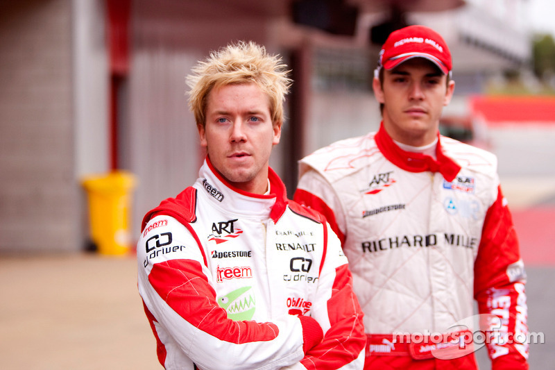Jules Bianchi and Sam Bird