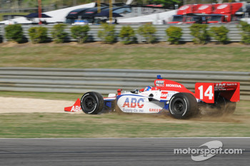 Vitor Meira, A.J. Foyt Enterprises goes off track