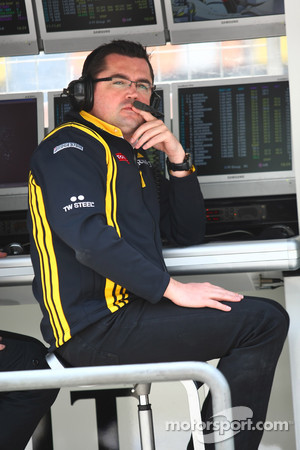 Eric Boullier, Team Principal, Lotus Renault Team