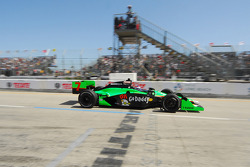 Danica Patrick, Andretti Autosport leaves the pits