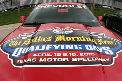 Qualifying days are sponsored by the Dallas Morning News