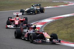 Jaime Alguersuari, Scuderia Toro Rosso, Felipe Massa, Scuderia Ferrari