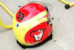 Helmet for Clint Bowyer crew member