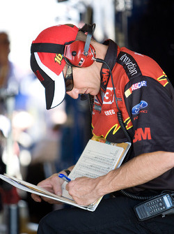 Greg Erwin, crew chief for Greg Biffle