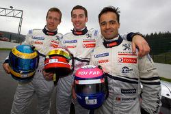 Sébastien Bourdais, Simon Pagenaud and Pedro Lamy