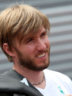 Nick Heidfeld, Test Driver, Mercedes GP