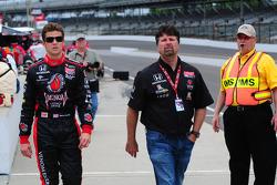 Michael Andretti, Andretti Autosport and Marco Andretti, Andretti Autosport
