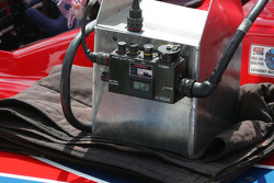 Battery charger on Paul Tracy's KV Racing Technology's car
