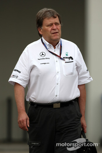 Norbert Haug, Mercedes, Motorsport chief