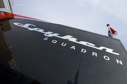 Spyker Squadron transporter