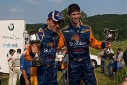DP winners #10 SunTrust Racing Ford Dallara: Max Angelelli, Ricky Taylor