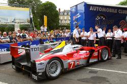 #7 Audi Sport Team Joest Audi R15 at scrutineering