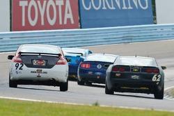 #62 Mitchum Motorsports Camaro GS.R: Joey Atterbury, Dion von Moltke, #92 HART Honda Civic Si: Chad Gilsinger, Michael Galati, Bryan Johnson