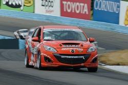 #03 Team MER Mazda Speed 3: Jason Saini, Justin Piscitell