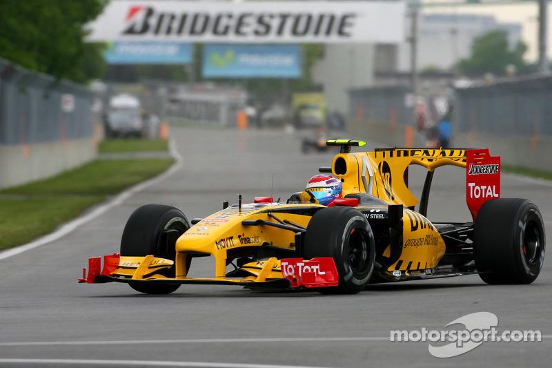 Vergleich: Renault R30: Heckflügel, GP Kanada