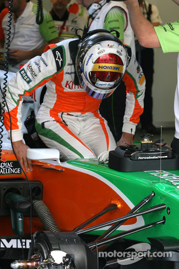 Adrian Sutil, Force India F1 Team Adrian Sutil, Force India F1 Team