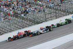 Marco Andretti, Andretti Autosport, Mario Moraes, KV Racing Technology & Tony Kanaan, Andretti Autosport