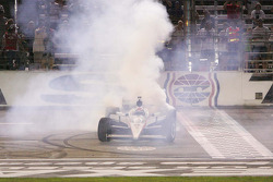 Race winner Ryan Briscoe, Team Penske celebrates
