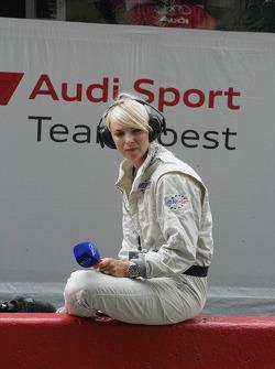 Eurosport TV charming presenter