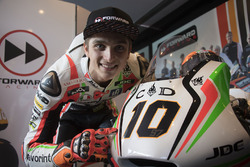 Sonderdesign bei Forward Racing: Luca Marini