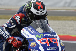 Jorge Lorenzo, Yamaha Factory Racing, practice start