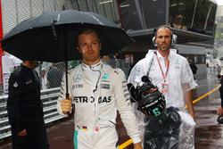 Ніко Росберг, Mercedes AMG F1, на стартовій решітці