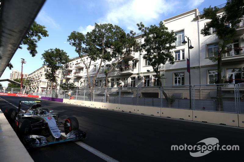 Europa, Baku: Nico Rosberg (Mercedes)