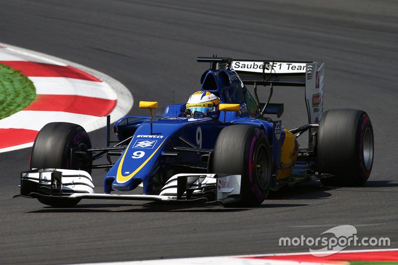 19: Маркус Ерікссон, Sauber C35