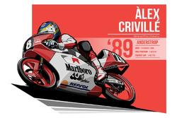 Alex Criville - 1989 Anderstrop