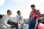 Kevin Magnussen, Jazeman Jaafar & Jack Harvey