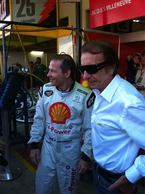 Jacques Villeneuve & Emerson Fittipaldi