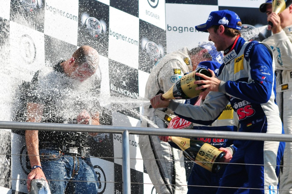 ADAC GT Masters Race 2 - Podium Celebration