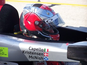Audi LMP  Driver Dindo Capello
