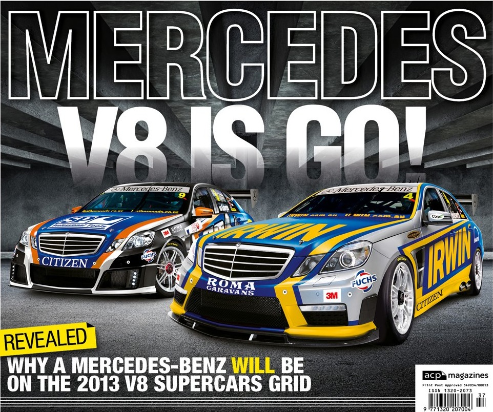 AMG Mercedes on the V8 Supercar grid with Stone Brothers Racing