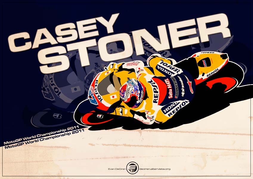 Casey Stoner - MotoGp 2011