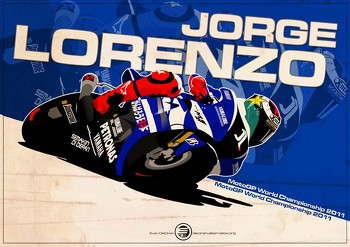 Jorge Lorenzo - MotoGp 2011